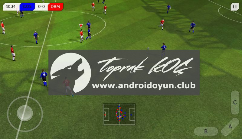 Dream League Soccer 2 05 Mod Apk Para Hi̇leli̇android Oyun Club