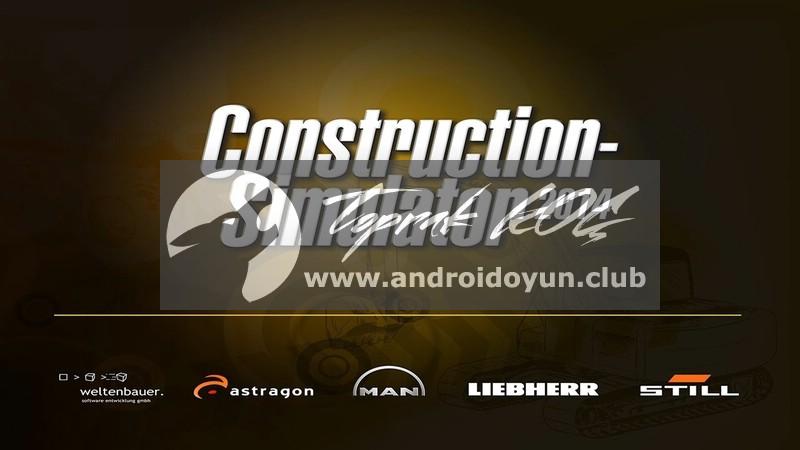 Construction Simulator 2014 MOD APK - PARA HİLELİ