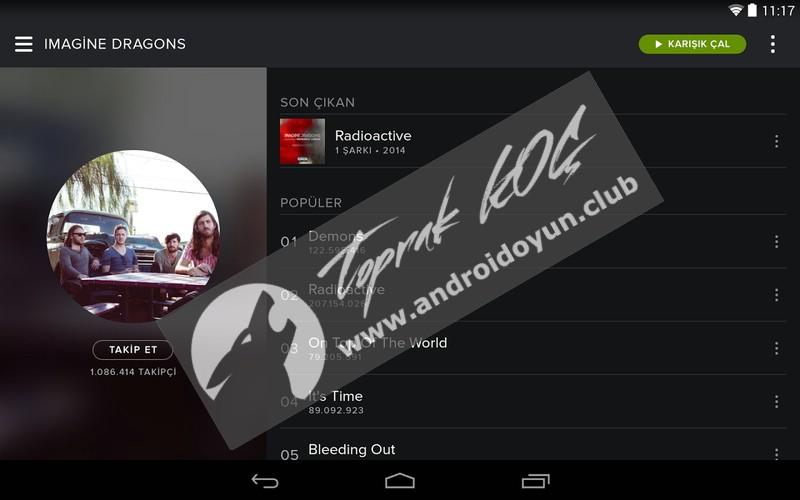 crack spotify android