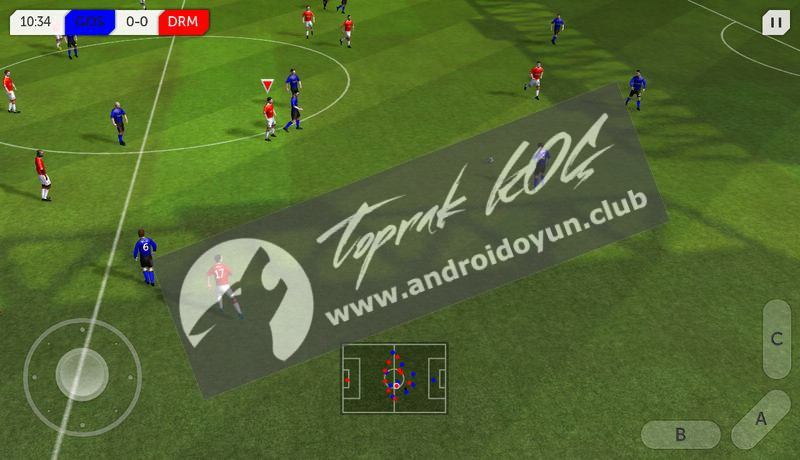 Dream League Soccer V2 07 Mod Apk Para Hi̇leli̇android Oyun Club