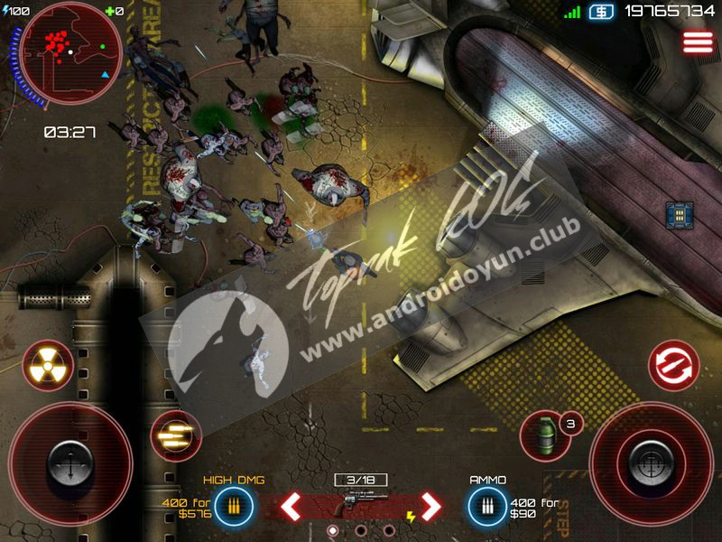 Purge the undead! Awesome upgradeable guns and armor, unique class skills, and 4 player co-op! Play the most intense zombie shooter on mobile, from the makers of Bloons TD 5.