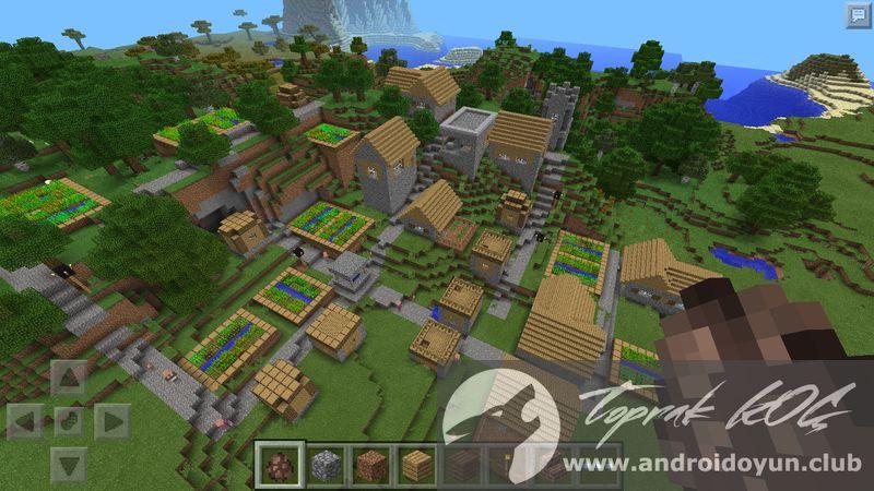minecraft oyunu oyna ev yapma