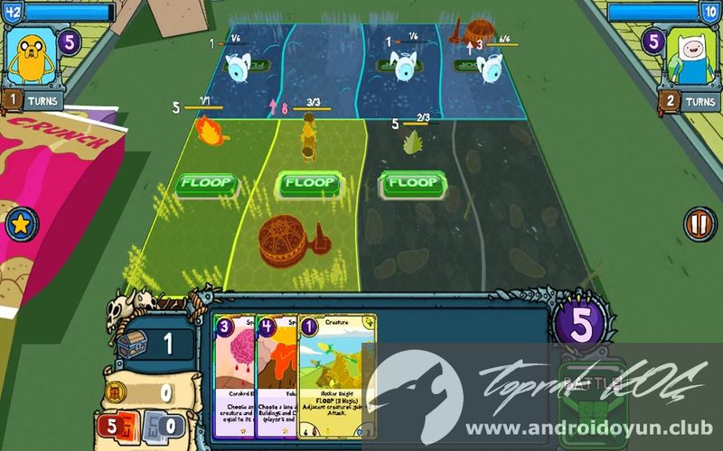 Android Hack-Card Wars Adventure Time FREE PLAY: KKGamer.com