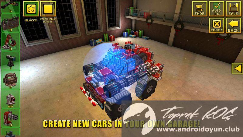 blocky cars mod apk