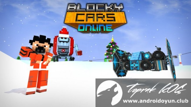 blocky cars mod apk latest