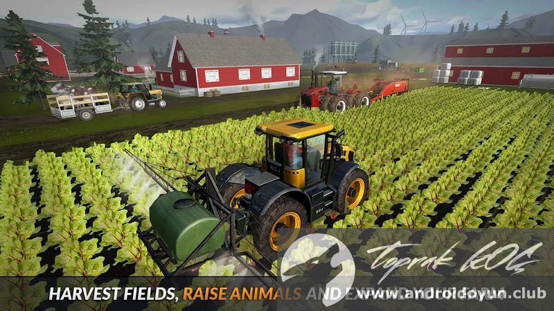 Farming PRO 2016 v1 7 MOD APK - PARA HİLELİ