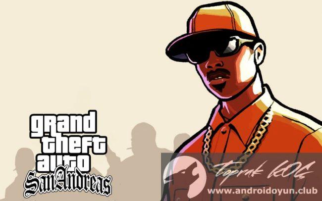 GTA San Andreas v1 08 MOD APK - PARA HİLELİ