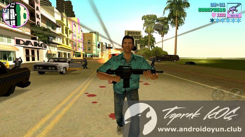 GTA Vice City v1 07 MOD APK - PARA HİLELİ