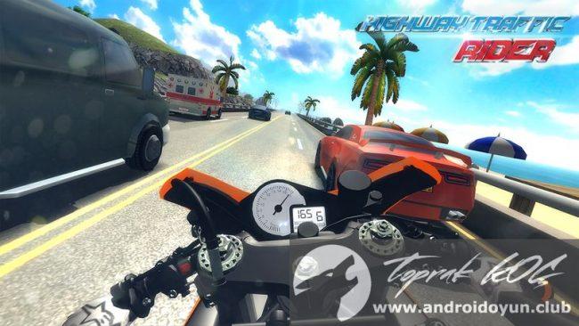 highway-traffic-rider-v1-6-mod-apk-para-hileli
