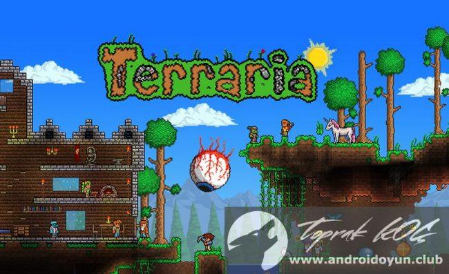 terraria apk android oyun club hilesiz