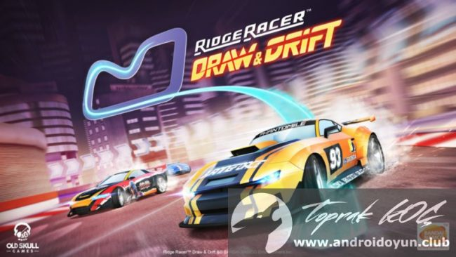 ridge-racer-draw-and-drift-v1-0-mod-apk-para-hileli