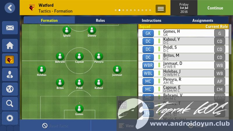 football manager mobile apk