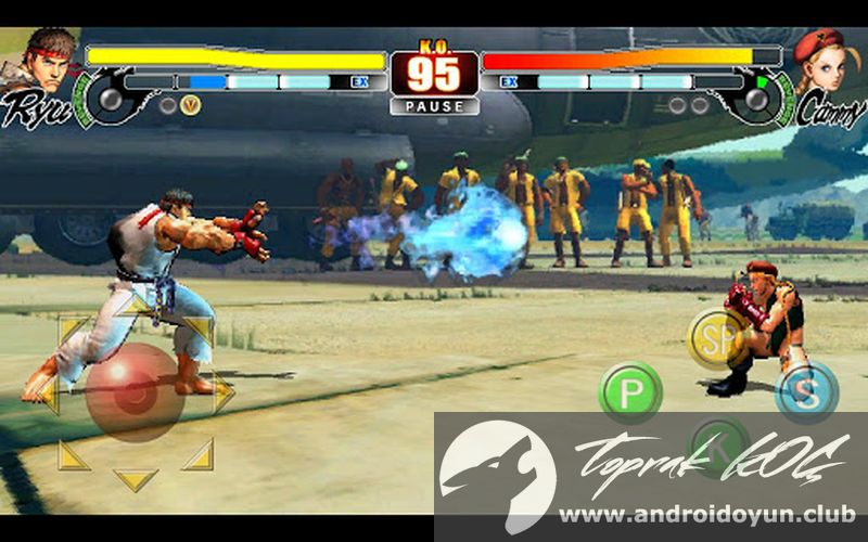 Street Fighter 4 HD v1 00 03 FULL APK - TEK LİNK