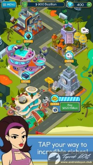 taps-to-riches-v1-2-mod-apk-elmas-hileli-3