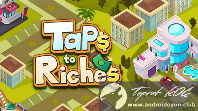 taps-to-riches-v1-2-mod-apk-elmas-hileli