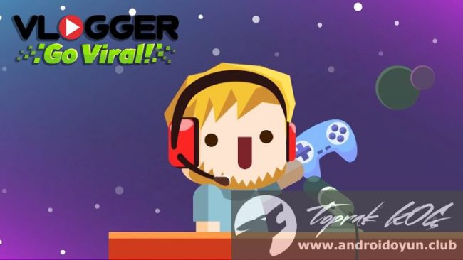 vlogger-go-viral-clicker-v1-11-mod-apk-elmas-hileli