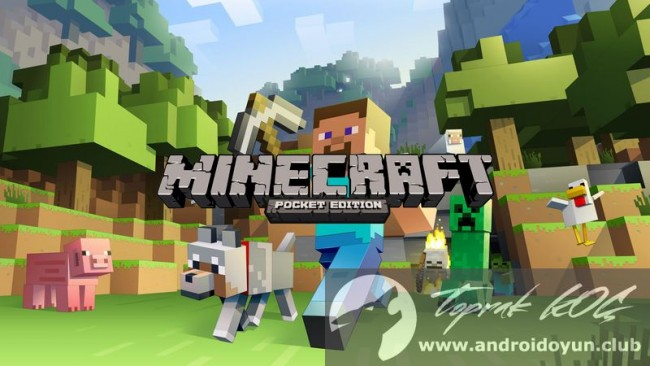 Minecraft Pocket Edition v1.0.0.2 FULL APK – (MCPE 1.0 Beta!)