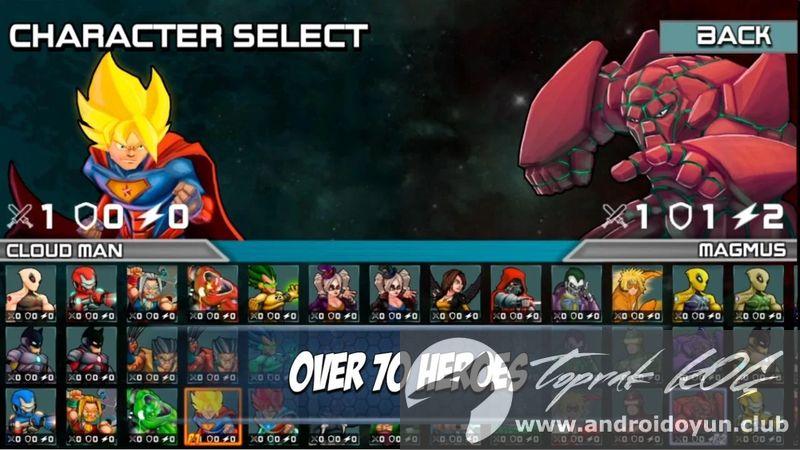 Superheros 3 Dövüş Oyunları V13 Mod Apk Para Hileli