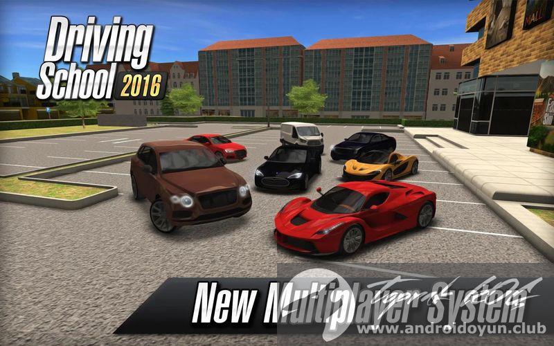 Driving school 2016 v1 7 0 mod apk para h lel for Motor city driving school