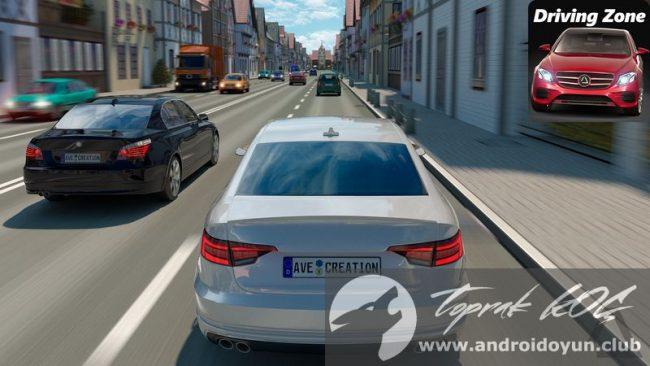 Driving Zone Germany V10 Mod Apk Para Hileli