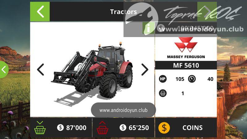 Farming Simulator 18 v1 4 0 1 MOD APK – PARA HİLELİ