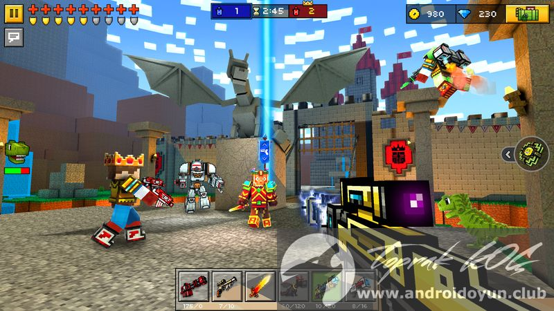 Pixel Gun 3d V12 2 1 Mod Apk Para Hileli Tek Link Android Oyun Club