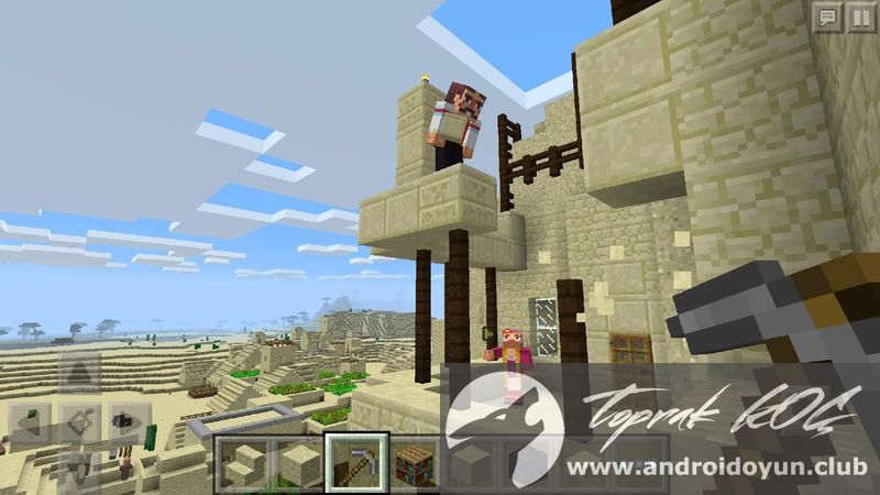 Minecraft Pocket Edition V FULL APK MCPE - Skin para minecraft android y pc