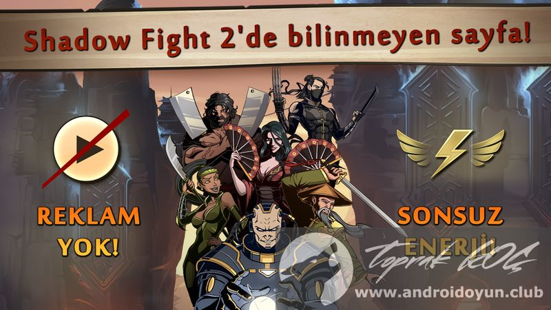 Shadow Fight 2 Special Edition v1 0 0 MOD APK - PARA HİLELİ
