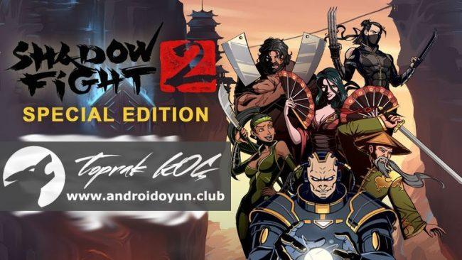 Shadow Fight 2 Special Edition v1 0 0 MOD APK - PARA HİLELİ