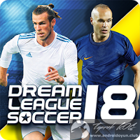 Dream League Soccer 2018 v5.02 PARA HİLELİ APK