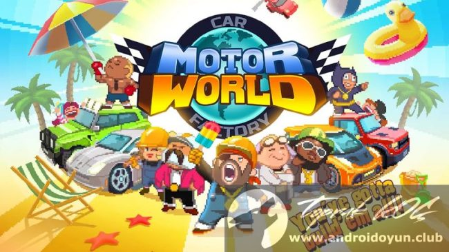 Motor World Car Factory >> Motor World Car Factory V1 9008 Mod Apk Para Hileli