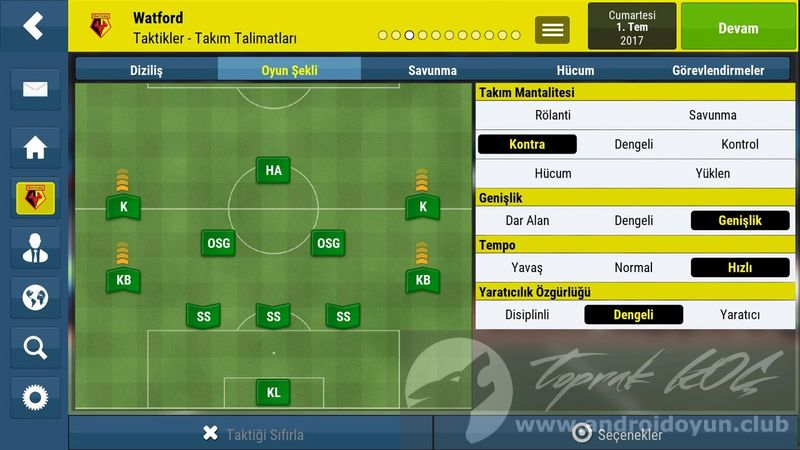 Football Manager Mobile 2018 V9.0.3 FULL APK