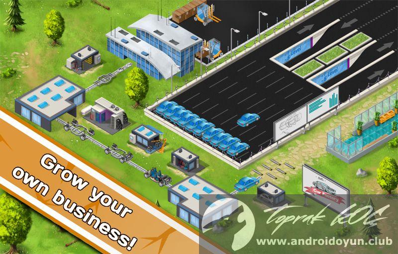 Idle Car Factory v5.9 MOD APK - PARA HİLELİ
