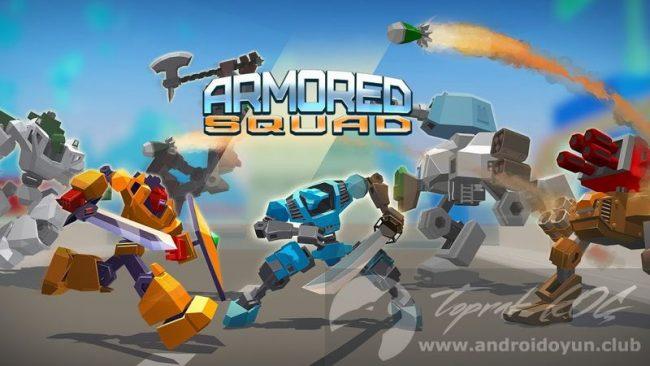 Armored Squad Mechs vs Robots v1 0 6 7 MOD APK - PARA HİLELİ