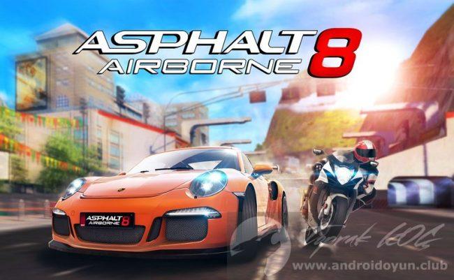 Asphalt 8 Airborne v3.5.0j MOD APK – MEGA HİLELİ APK Durağı İndir