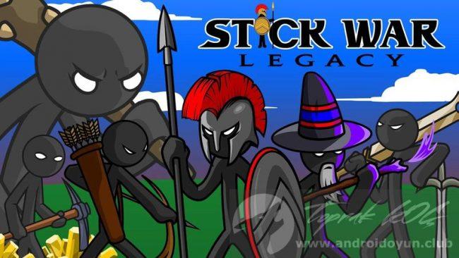 Stick War Legacy v1.7.01 MOD APK – ELMAS / PUAN HİLELİ APK Durağı İndir