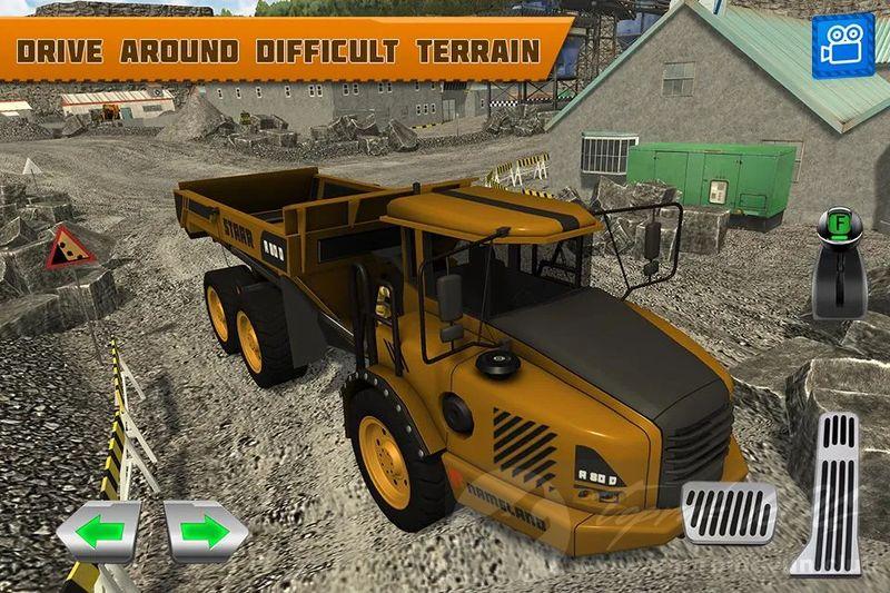 Quarry Driver 3 Giant Trucks v1 0 MOD APK - MEGA HİLELİ