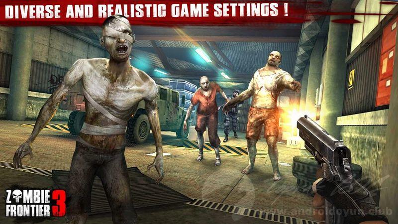 zombie frontier 3d mod apk son sürüm