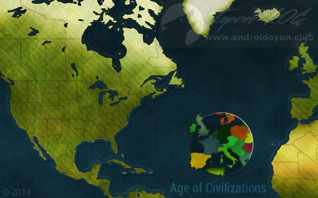 age of civilizations apk hile