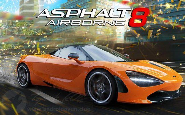 Asphalt 8 Airborne v3.8.0m MOD APK – MEGA HİLELİ APK Durağı İndir