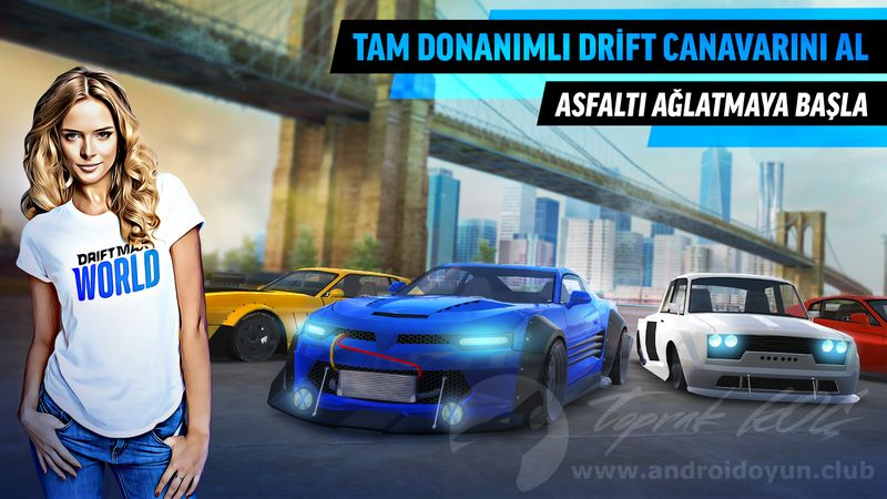 android oyun club drift max world