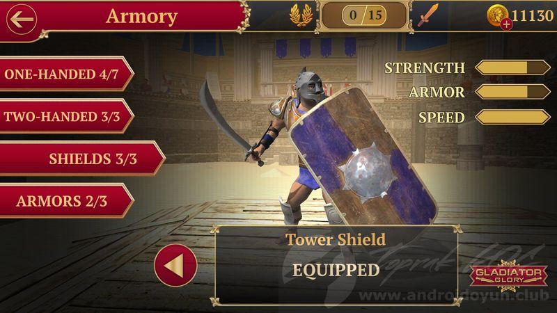 Gladiator Glory v4 7 1 MOD APK - PARA HİLELİ