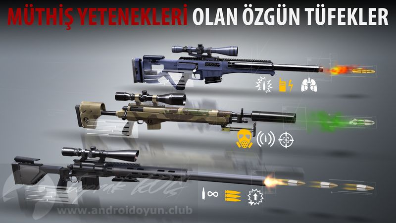 Sniper 3d assassin android oyun club