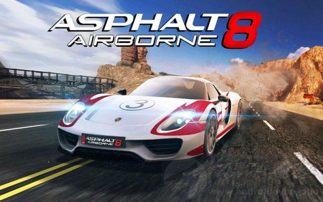 Asphalt 8 Airborne v4 1 2a MOD APK – MEGA HİLELİ