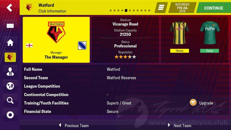 Football Manager 2019 Mobile v10 2 0 FULL APK – TAM SÜRÜM
