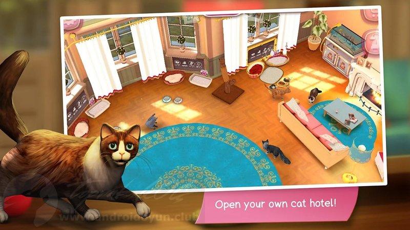CatHotel Hotel For Cute Cats v2 1 7 MOD APK - MEGA HİLELİ
