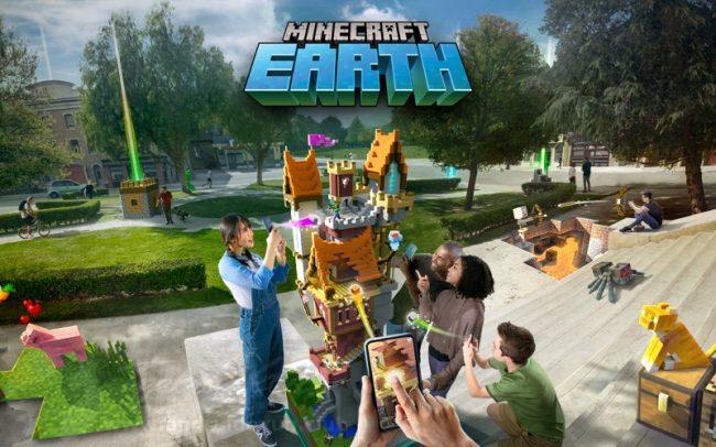 Minecraft Earth Apk indir