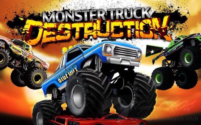 Monster Truck Destruction v3.2.3112 MOD APK – PARA HİLELİ APK Durağı İndir